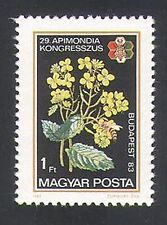 Hungary 1983 Bees/Insects/Flowers/Nature/Beekeeping 1v (n34493)