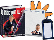 12th Doctor Who Sticky Note Post It Set 3 Styles 300 Pieces Tardis Dalek Capaldi