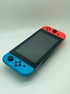 NINTENDO Switch Neon-Rot/Neon-Blau (neue Edition) Defekt #1051