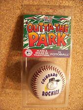 Colorado Rockies Ice Cream Cone baseball ball #105  MLB Outta The Park