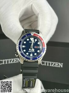 CITIZEN PROMASTER STUNNING AUTOMATIC MEN'S DIVER 200M WATCH NY0086-16L - NEW