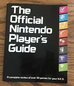 The Official Nintendo Players Guide NES - Stickers Intact