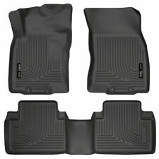 Floor Liners fit 2014-2020 Nissan Rogue Front and Rear Husky floor mat set Black