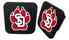 UNIVERSITY OF SOUTH DAKOTA RUBBER TRAILER HITCH COVER-HITCH COVER