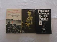 3 poches livres Kororo-Haendel-Ernst von salomon-un pyrenäenbuch/s53