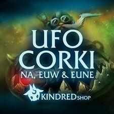 UFO CORKI 1-29 EUW LVL League of Legends (LoL) Account