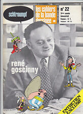 GOSCINNY Schtroumpf revue BD no 22 TBE