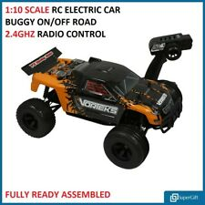 Remote Control Car Electric Buggy Truck Off Road Car 1:10 Scale Boosted Racing