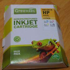 Brand-NEW Greentec HP 940XL Ink Cartridge 4 Pack (C, Y, M, BK) (HP pro8000/8500)