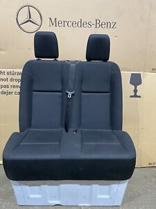 Genuine Mercedes Sprinter Double Passanger Seats & Base  . Fit 2018 +. New Shape