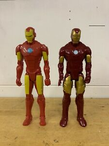 """Iron Man Classic And Modern 12"""" Figures"""