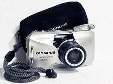 Mint Olympus Stylus Epic (mju-ii) Zoom 80 Dlx 35mm Point & Shoot Film Camera