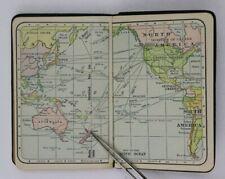 1916 Guardian Way Savings & Trust Cleveland Calendar OH Ad memo map Notebook
