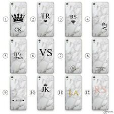 HAIRYWORM PERSONALISED INITIAL, NAME PLASTIC PHONE CASE FOR SONY XPERIA, EXPERIA