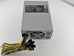 BTC1800W Mining Power Supply (80 Plus Gold) 1600 Watt Used