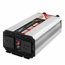 Giantz VERT-P-1500W-SL 1500W Puresine Wave DCAC Power Inverter - Silver