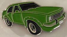 Torana SL/R 5000  --   lapel / hat  pin badge.   --  green car   --