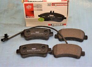 plaquettes de frein arrière FERODO RENAULT MASTER III OPEL MOVANO B Nissan NV400