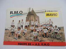 wielerkaart 1988  team rmo