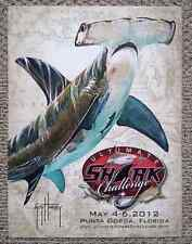 Guy Harvey, RARE Artwork Event Poster w/FREE Decals, Ultimate Shark Challenge