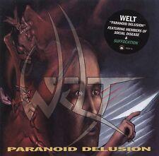 Mondo-paranoica Delusion MCD (NB/Progress, 1994) * RARE programmazione a oggetti Suffocation, pyrexia