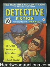 Detective Fiction Weekly Aug 10, 1940  Dale Clark Cvr story - High Grade
