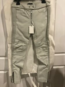 STUNNING ISABELLE MARANT MINT LEATHER PANTS  SIZE 38 AU10 US 6 NEW WITH TAGS