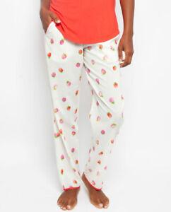 Sophia Strawberry Print Pyjama Pants
