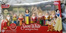 Snow White and the Seven Dwarfs Dispenser Pez Set New Collector's Series & Book