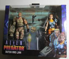 Alien vs Predator Dutch and Linn NECA New Sealed Toy Rare Action Figure 2 Pack