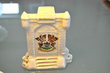 'LLANDUDNO'  CRESTED CHINA  MINIATURE  EAST TOLL GATE