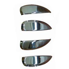 4 POIGNEES PORTES DACIA SANDERO 2 A PARTIR DE 11/2012 TOUS COUVRES CHROME