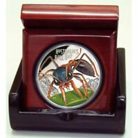 DEADLY & DANGEROUS 2015 (TUVALU) BULL ANT 1OZ SILVER PROOF COIN