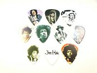 Jimmy Hendrix - 8 MEDIATORS PICKS - 0,73mm - pour guitare