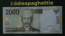 INDONESIA 2000 RUPIAH 2009/2012 UNC P-148d