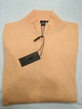 Fairway & Greene  McCallan Blend Quarter Zip Sweater NWT Large $225 Peach