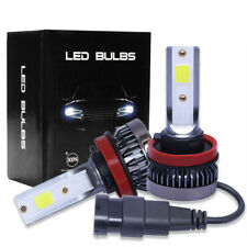 2pcs Mini H11 LED Ampoule Auto Voiture Feux Phare Lampe Kit 36W 6000K Blanc MS