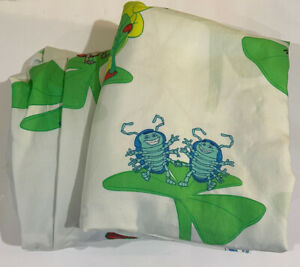 Disney Pixar Bug's Life Twin Size Flat and Fitted Sheets NICE
