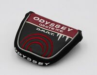 Odyssey White Ice DART Mallet Putter Headcover Golf Head Cover (Great Condition)