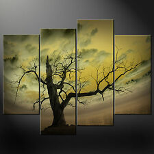 ABSTRACT SKY TREE CANVAS WALL ART PICTURES PRINTS DECOR LARGER SIZES AVAILABLE
