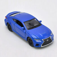 1:36 Lexus RC F Model Car Metal Diecast Gift Toy Vehicle Kids Collection Blue