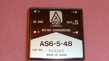NEW NEMIC Lambda AS6-5-48 power module IN 48V OUT 5V 1.2A DC-DC CONVERTER 4PIN