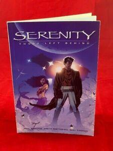 Serenity: Those Left Behind - Dark Horse Books Graphic Novel