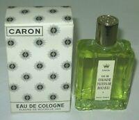 Vintage Caron Fleurs De Rocaille Eau De Cologne Bottle/Box 3 3/4 OZ Open