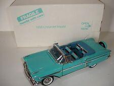 Danbury Mint 1958 Chevrolet Impala Convertible 1:24 Scale