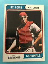 1974 Topps Baseball Card # 260 Ted Simmons St. Louis Cardinals