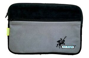 """iPad Tablet Messenger Zippered Bag Soft Carry Pouch Case fits 12X8""""  FIREPROOF!"""