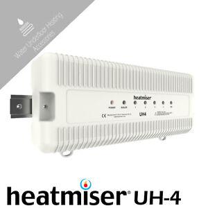 Heatmiser UH4  4 Zone 230v Wiring Centre Water Underfloor Heating Systems