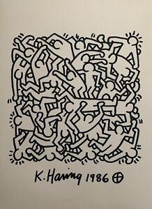 Keith Haring Drawing