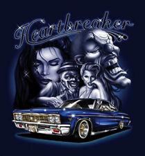 """Heartbreaker"" Clowns Beautiful Girls Lowrider Car Urban Style Street Art Poster"